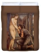 Pygmalion And The Image Iv Duvet Cover