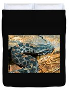 Pygmy Rattlesnake Duvet Cover