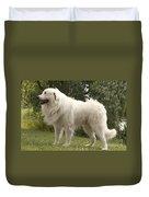 Pyrenean Mountain Dog Duvet Cover