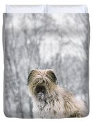 Pyrenean Shepherd Dog Duvet Cover