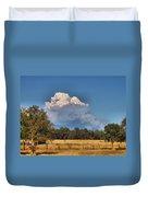 Pyrocumulus Cloud 08 18 12 Duvet Cover