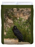 Qouth The Raven Nevermore Duvet Cover