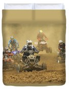 Quad Race Duvet Cover