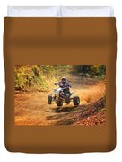 Quad Rider  Duvet Cover