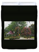 Quaint Park In Demopolis Alabama Duvet Cover