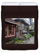 Quaint Rockport Duvet Cover