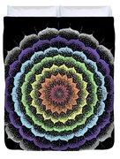 Quan Yin's Healing Duvet Cover
