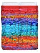 Quantum Cascade Duvet Cover