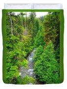 Quartz Creek Duvet Cover