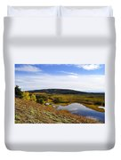 Quartz Lake Recreation Area Duvet Cover