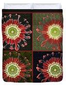 Quatro Floral - 0102cba Duvet Cover