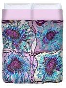 Quatro Floral - 11ac04 Duvet Cover