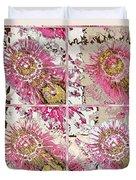 Quatro Floral - 22a Duvet Cover