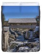 Quechee Covered Bridge Duvet Cover