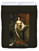 Queen Anne Of England (1665-1714) Duvet Cover