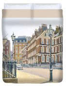 Queen Annes Gate Oil On Canvas Duvet Cover