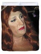 Portrait Of A Fire Island Queen Duvet Cover