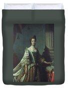 Queen Charlotte (1744-1818) Duvet Cover