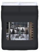 Queen City Winter Wonderland After The Storm Series 0026 Duvet Cover