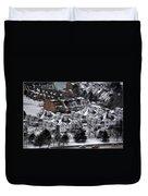 Queen City Winter Wonderland After The Storm Series 0028b Duvet Cover