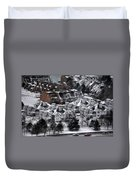 Queen City Winter Wonderland After The Storm Series0028 Duvet Cover