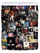 Queen Collage Duvet Cover