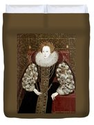 Queen Elizabeth I (1533-1603) Duvet Cover