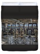 Queen Mary Ocean Liner Bridge 02 Extreme Duvet Cover