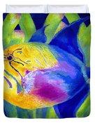 Queen Triggerfish Duvet Cover
