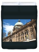 Queen Victoria Building Sydney Duvet Cover