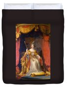Queen Victoria Of England (1819-1901) Duvet Cover
