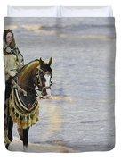 Queens War Horse Duvet Cover