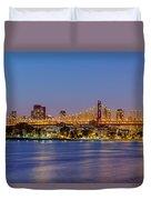 Queensboro Bridge 59th Street Nyc Duvet Cover