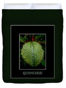 Quenched 2 Duvet Cover