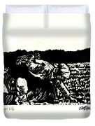 Quest For Life Duvet Cover