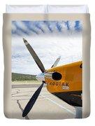 Quest Kodiak Aircraft Duvet Cover