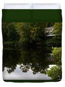 Quiet Lake In The Berkshires Duvet Cover
