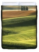 Quiet Morning In The Palouse  Duvet Cover