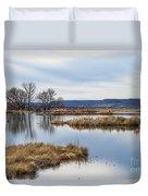 Quiet Wetlands Duvet Cover