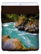 Quinault River Bend Duvet Cover