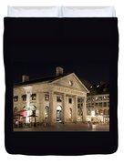 Quincy Market Boston Duvet Cover