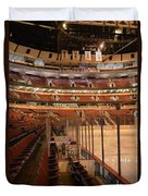 Quite Time Chicago United Center Before The Gates Open Vertical Duvet Cover