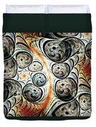 Quorum Sense Duvet Cover by Anastasiya Malakhova