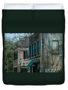Quuen Street In Charleston Sc Duvet Cover