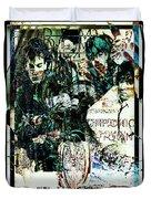R E M / Exit Chronic Town Duvet Cover