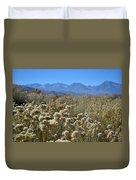 Rabbit Brush Owens Valley Duvet Cover