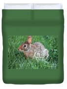 Rabbit On The Run Duvet Cover