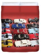 Race Cars Duvet Cover