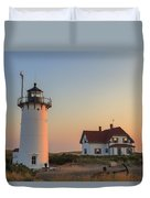 Race Point Lighthouse Duvet Cover
