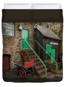 Racecourse Colliery  Duvet Cover by Adrian Evans